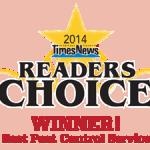 2014 Winner Best Pest Control Service - Barnes Exterminating